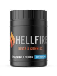 Hellfire D8 50 Birthday Cake