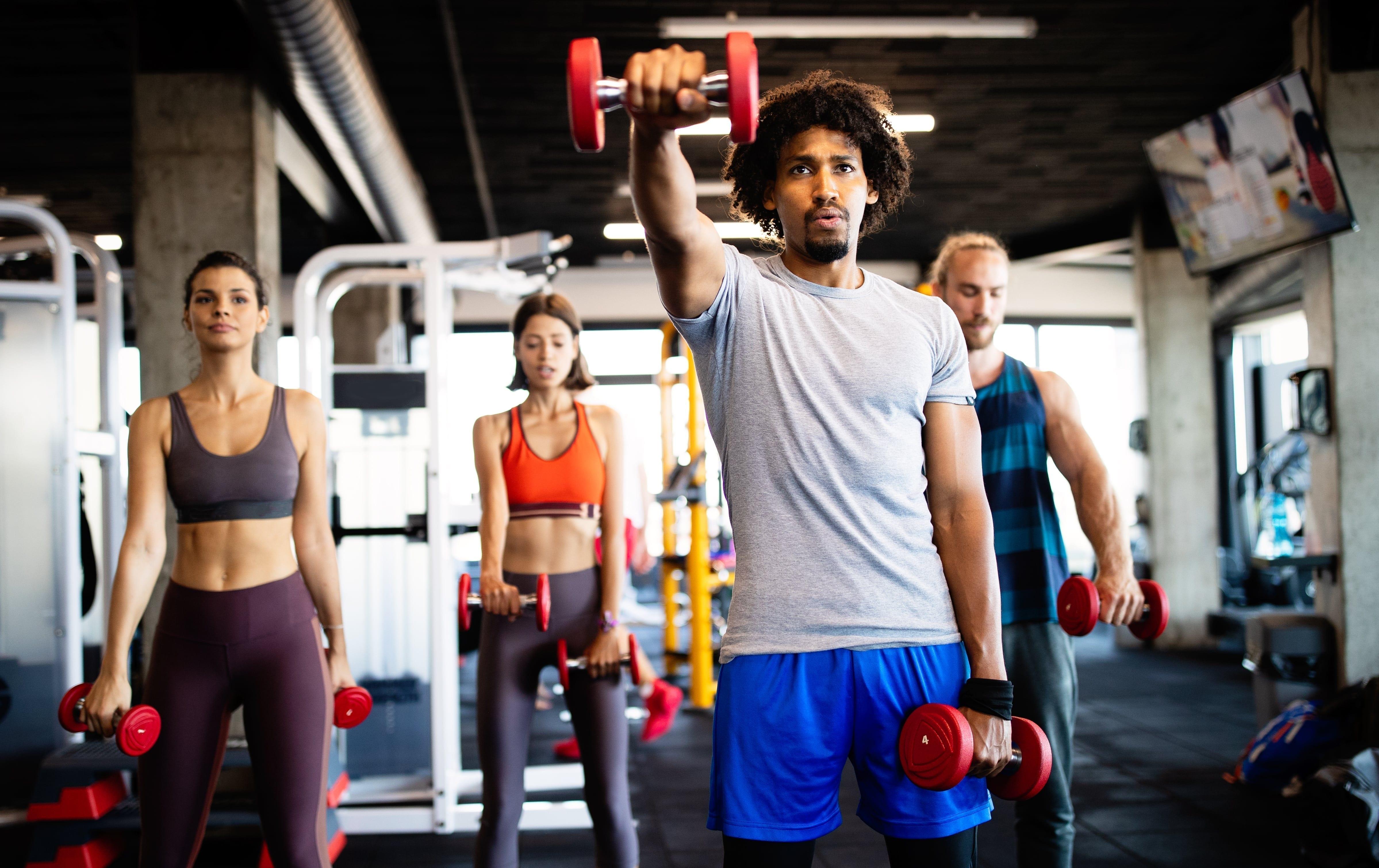 Group of athletes who use CBD for athletes