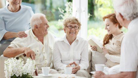 Parkinson's patients learning about CBD