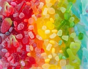 CBD rainbow gummies for Smilyn